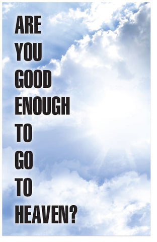 Are You Good Enough To Go To Heaven? (KJV) (Preview page 1)
