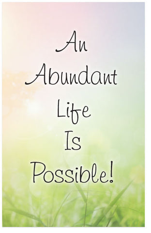 An Abundant Life Is Possible! (KJV) (Preview page 1)