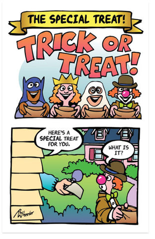Trick or Treat! (NIV) (Preview page 1)