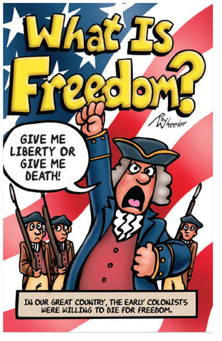What Is Freedom? (KJV) (Preview page 1)