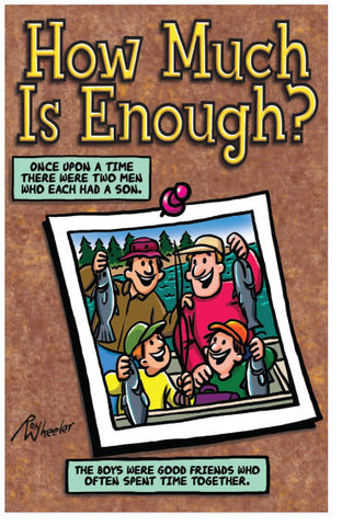 How Much Is Enough? (NIV) (Preview page 1)