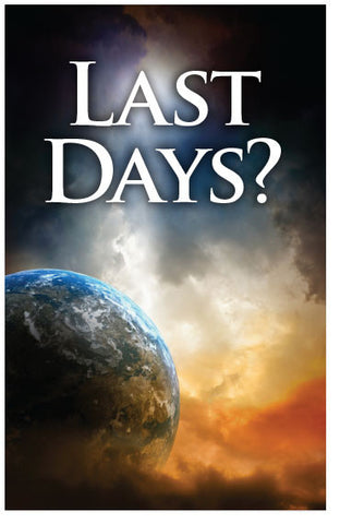 Last Days? (NIV) (Preview page 1)
