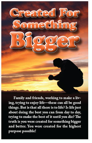 Created For Something Bigger (NASB) (Preview page 1)