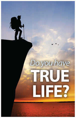 Do You Have True Life? (NKJV) (Preview page 1)
