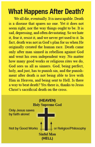 What Happens After Death? (NKJV) (Preview page 1)