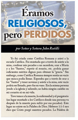 We Were Religious, But Lost (Spanish) (Preview page 1)