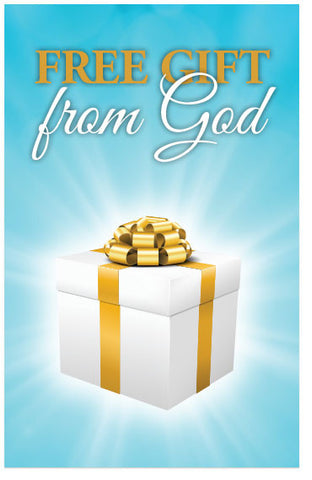 Free Gift From God (NIV) (Preview page 1)