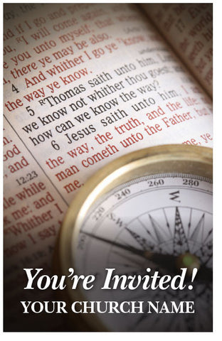 You're Invited! (Tract, NASB) (Preview page 1)