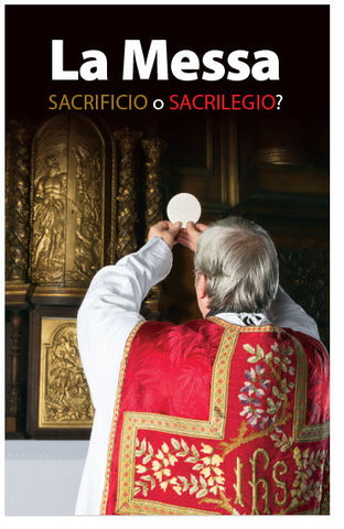 The Mass: Sacrifice or Sacrilege? (Italian) (Preview page 1)