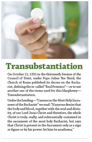 Transubstantiation (KJV) (Preview page 1)