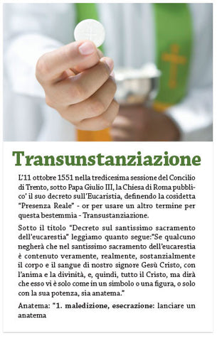 Transubstantiation (Italian) (Preview page 1)