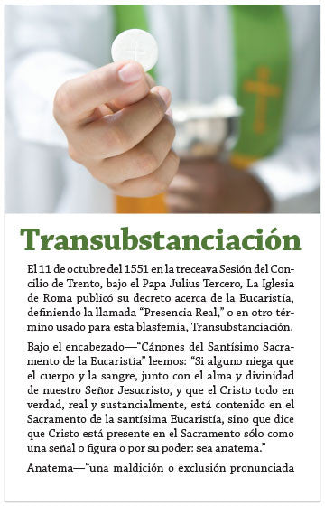 Transubstantiation (Spanish) (Preview page 1)