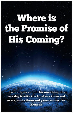 Where Is The Promise Of His Coming? (KJV) (Preview page 1)