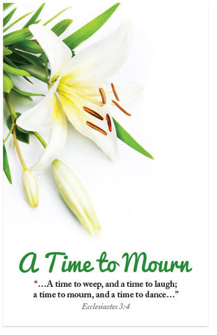 A Time To Mourn (KJV) (Preview page 1)