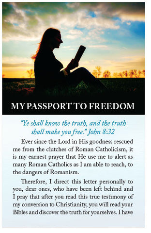 My Passport To Freedom (KJV) (Preview page 1)