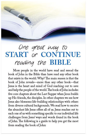 One Great Way To Start Or Continue Reading The Bible (ESV) (Preview page 1)