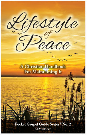 Lifestyle Of Peace: A Christian Handbook For Maintaining It (NIV) (Preview page 1)