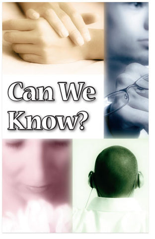 Can We Know? (KJV) (Preview page 1)