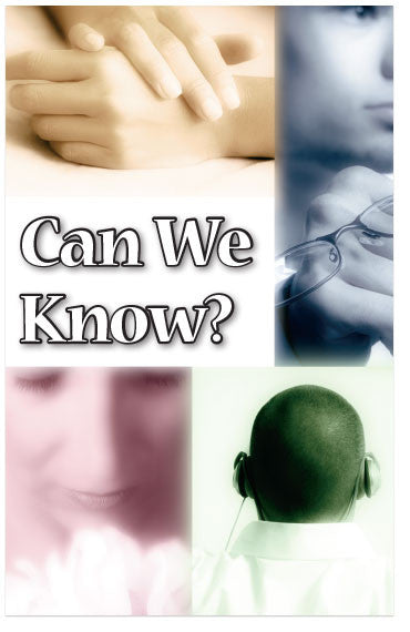 Can We Know? (NKJV) (Preview page 1)