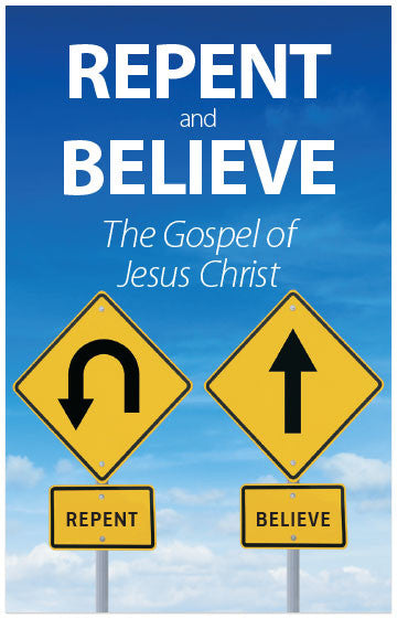Repent And Believe: The Gospel of Jesus Christ (KJV) (Preview page 1)