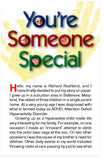 You're Someone Special (NIV)