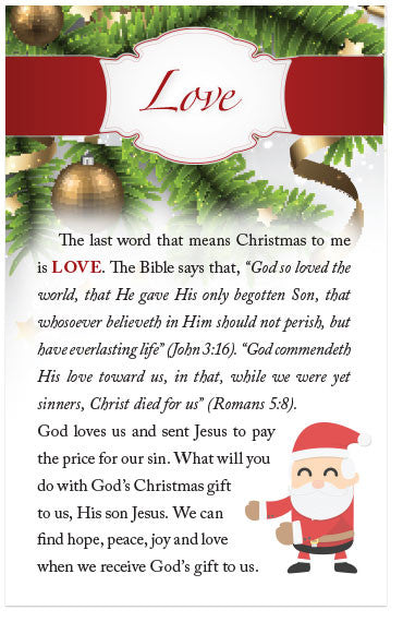 Four Words That Mean Christmas To Me (KJV) – Moments With The Book