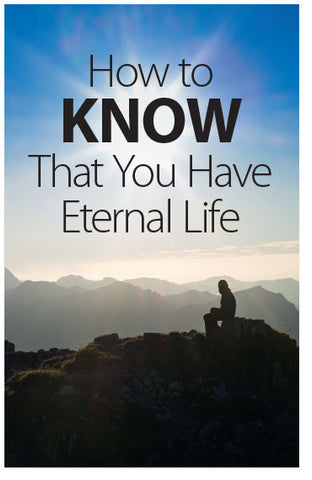 How To Know That You Have Eternal Life (KJV) (Preview page 1)