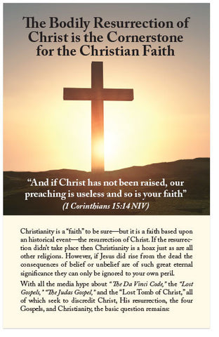 The Bodily Resurrection of Christ (Preview page 1)