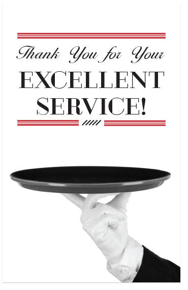 Thank You For Your Excellent Service! (NKJV) (Preview page 1)