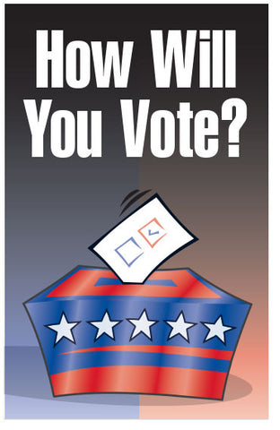 How Will You Vote? (KJV) (Preview page 1)