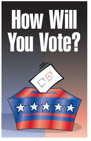 How Will You Vote? (NKJV) (Preview page 1)