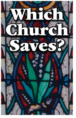 Which Church Saves?  (KJV) (Preview page 1)