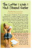 The Letter I Wish I Had Shared Earlier (NASB) (Preview page 1)
