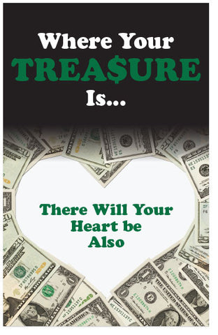 Where Your Treasure Is (KJV) (Preview page 1)