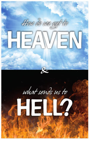 How Do We Get To Heaven & What Sends Us To Hell? (KJV) (Preview page 1)