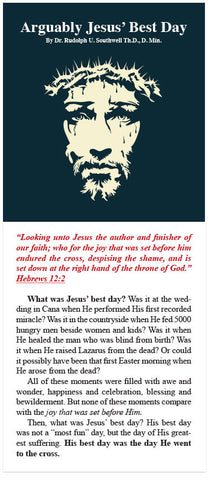 Arguably Jesus' Best Day (KJV) (Preview page 1)