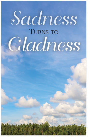 Sadness Turns to Gladness (Preview page 1)