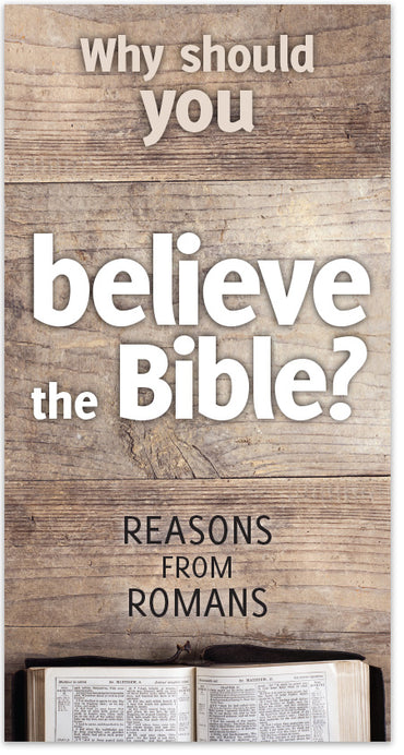 Why Should You Believe The Bible? (ESV)