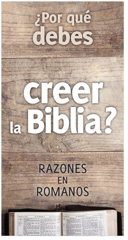 Why Should You Believe The Bible? (Spanish)