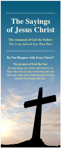 The Sayings of Jesus Christ (Preview page 1)