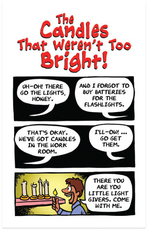 The Candles That Weren't Too Bright! (NIV) (Preview page 1)