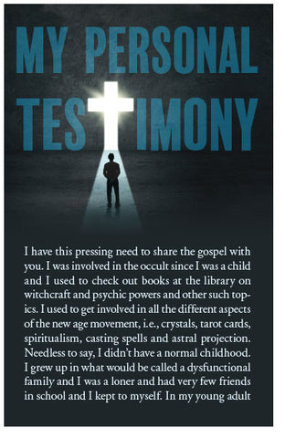 My Personal Testimony (Preview page 1)