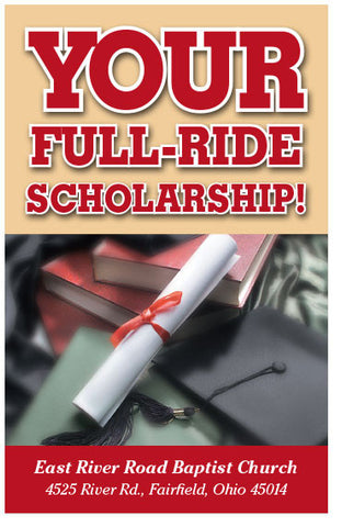 Your Full-Ride Scholarship (KJV) (Preview page 1)