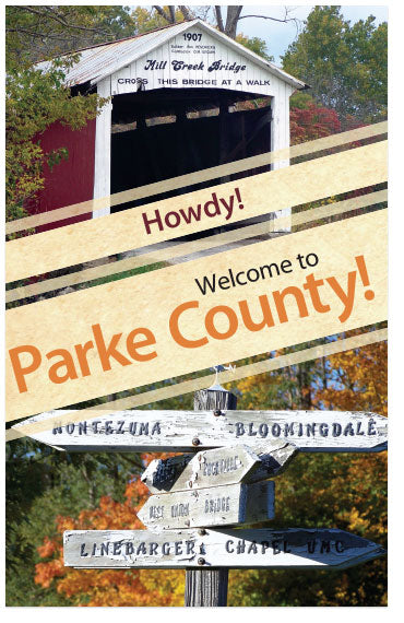 Howdy! Welcome to Parke County! (Preview page 1)