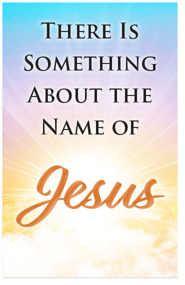There Is Something About The Name Of Jesus (Preview page 1)
