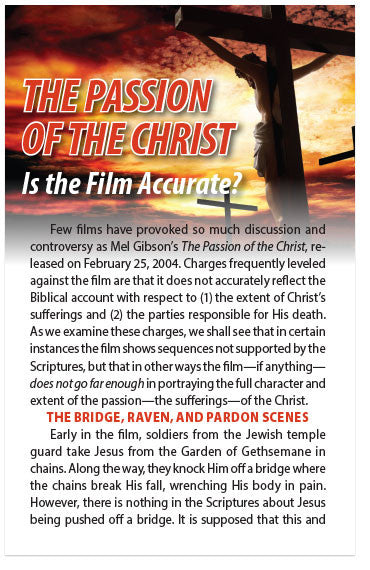 The Passion of the Christ: Is the Film Accurate? (NKJV) (Preview page 1)
