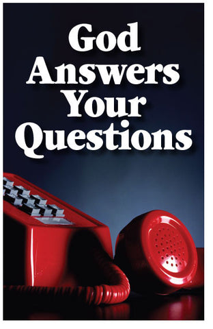 God Answers Your Questions (NIV) (Preview page 1)