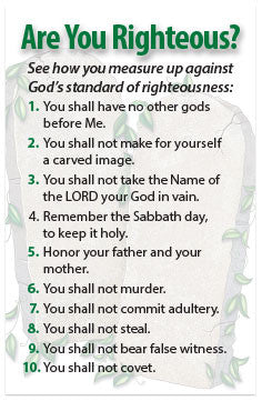 Are You Righteous? (NKJV) (Preview page 1)