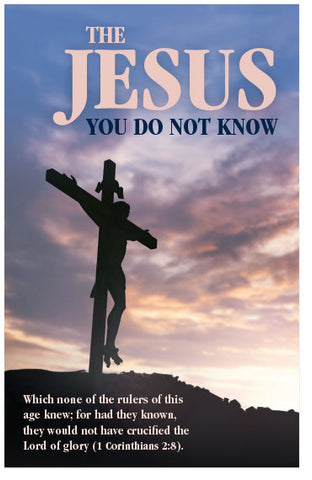 The Jesus You Do Not Know