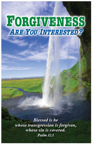 Forgiveness: Are You Interested? (KJV) (Preview page 1)